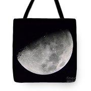 Half Moon Number 5 Tote Bag