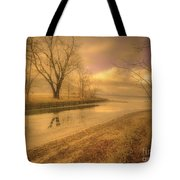 Half Reflections Tote Bag