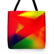 Halftone Colorful Abstract Tote Bag