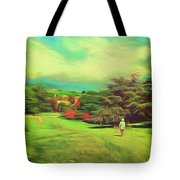 Halfway Down The Hill Tote Bag