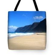 Hali Pale Beach  Kauai  Hawaii Tote Bag