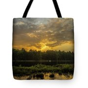 Haliburton Sunrise Tote Bag
