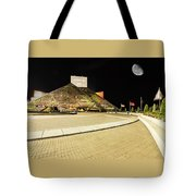 Hall Of Fame At Night Tote Bag