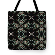 Hall Of Mirrors In Abstract Tote Bag