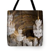 Hall Of Mirrors Palace Of Versailles France Tote Bag