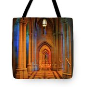 Hall Of The Cathedral Tote Bag