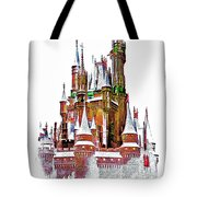 Hall Of The Snow King  Tote Bag