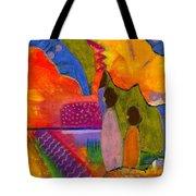 Hallelujah Praise Tote Bag by Angela L Walker