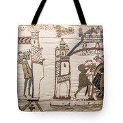 Halleys Comet Of 1066, Bayeux Tapestry Tote Bag