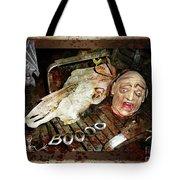 Hallo Boooo Tote Bag