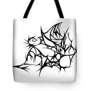 Hallow Web Tote Bag