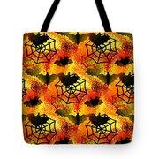 Halloween Abstract - Happy Halloween Tote Bag