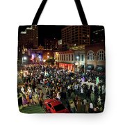 Halloween Draws Tens Of Thousands To Celebrate On 6th Street Tote Bag