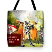 Halloween Drives Me Crazy Tote Bag