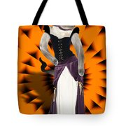 Halloween Hussy Tote Bag