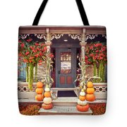 Halloween In A Small Town Tote Bag