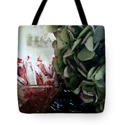 Halloween Is Around The Corner Tote Bag by Delight Worthyn