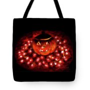 Halloween Lights Tote Bag