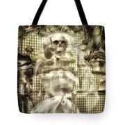 Halloween Mrs Bones The Bride Vertical Tote Bag
