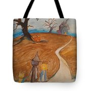 Halloween Night Tote Bag by Dawn Vagts