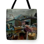 Halloween On The Hill Tote Bag