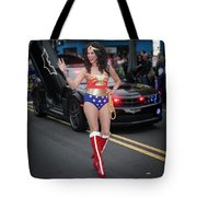 Halloween Parade In Newark's Ironbound Tote Bag