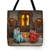Halloween Sweetness Tote Bag by Greg Olsen