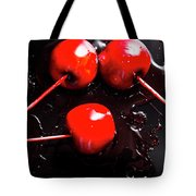 Halloween Toffee Apples Tote Bag