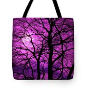 Halloween Trees No 3 By Dm Carpenter Tote Bag
