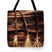 Halloween Witch Brooms Tote Bag