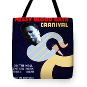 Halloween Wpa Parody Poster Tote Bag by Paul Van Scott