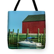 Hall's Harbour Tote Bag