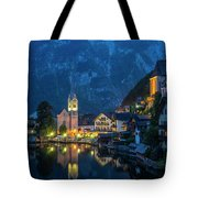 Hallstat Village Tote Bag