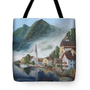 Hallstatt Austria Tote Bag