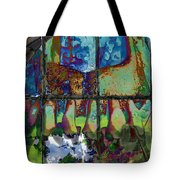 Hallucinatory Rawness Tote Bag