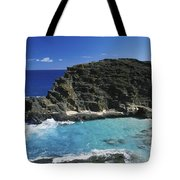 Halona Blow Hole Tote Bag