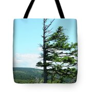 Halved Pine Tote Bag