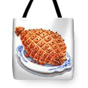 Ham On The Plate Tote Bag