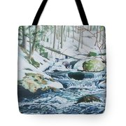 Hamburg Mountain Stream Tote Bag