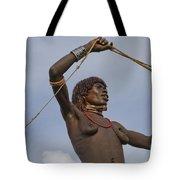 Hamer Tribe Woman, Ethiopia  Tote Bag