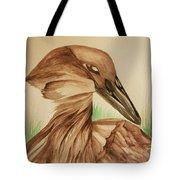 Hamerkop Tote Bag