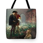 Hamlet And The Gravediggers Tote Bag