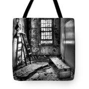 Hammer To Fall Tote Bag by Evelina Kremsdorf