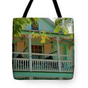 Hammocks In Paradise Tote Bag