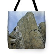 Hammond Castle Detail - Gloucester Ma Tote Bag