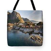 Hamnoy Island Tote Bag
