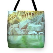 Hampi On Tungabadra 2 Tote Bag