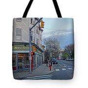 Hampshire Cafe Hampshire Street Cambridge Ma Tote Bag