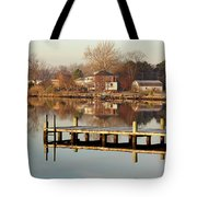 Hampton Virginia Sunrise Tote Bag