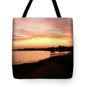 Hampton Virginia Sunset Tote Bag